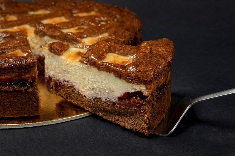 Tort Linzer cu brânză