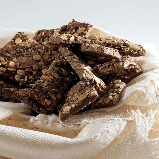 Biscuiți crocanți cu 5 cereale