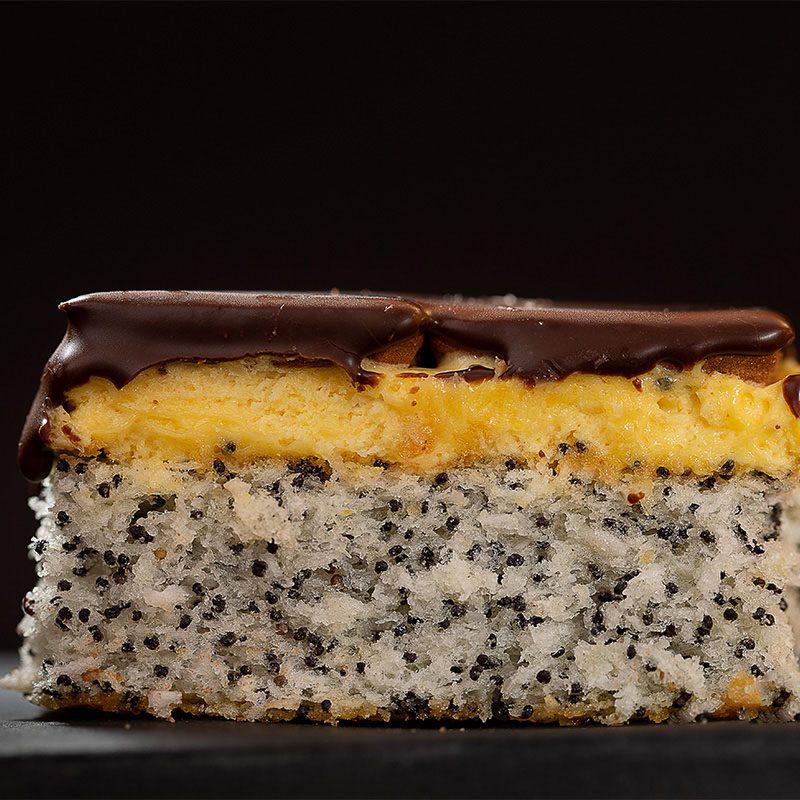 Prăjitură cu mac